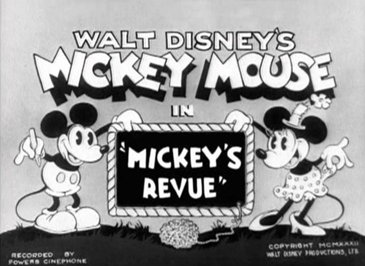 affiche micley theatre walt disney animation studios poster mickey revue