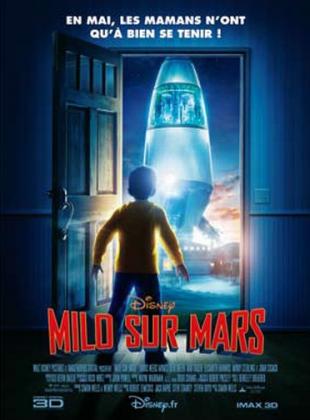 Affiche Poster Milo mars needs moms disney