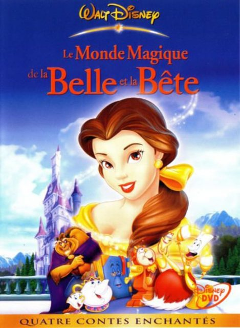 affiche poster monde magique belle bête beauty beast magical world disney