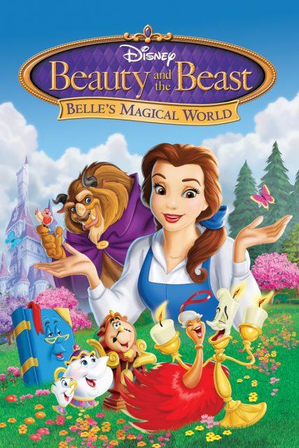 affiche poster monde magique belle bête beauty beast magical world disney