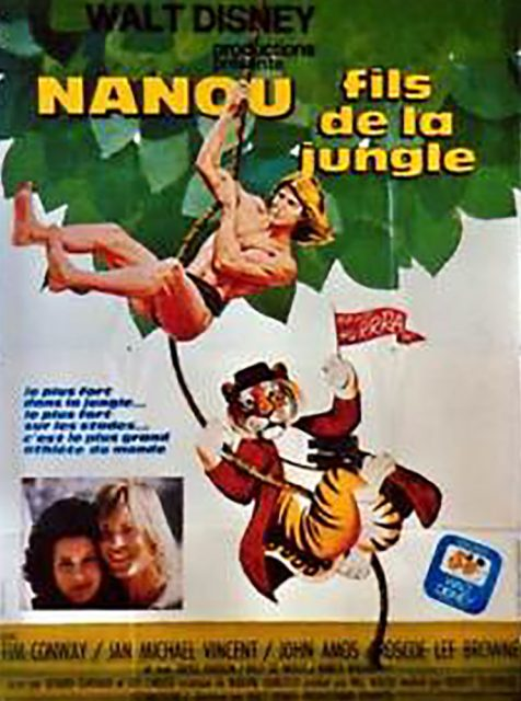 Affiche Poster nanou fils jungle world greatest athlete disney