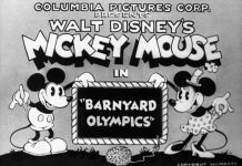 affiche olympiques rustiques walt disney animation studios poster barnyard olympics