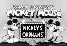 affiche orphelins mickey walt disney animation studios poster mickey orphans