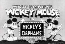 affiche orphelins mickey walt disney animation studios poster mickey orphans