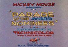 affiche parade nommés oscars 1932 walt disney animation studios poster parade award nominees