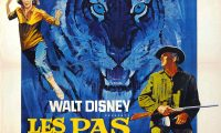 Affiche Poster pas tigre tiger walks disney