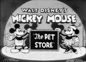 affiche pet store walt disney animation studios poster