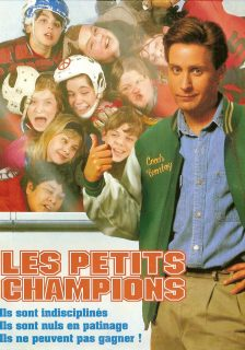 Affiche poster petits champions Mighty Ducks disney