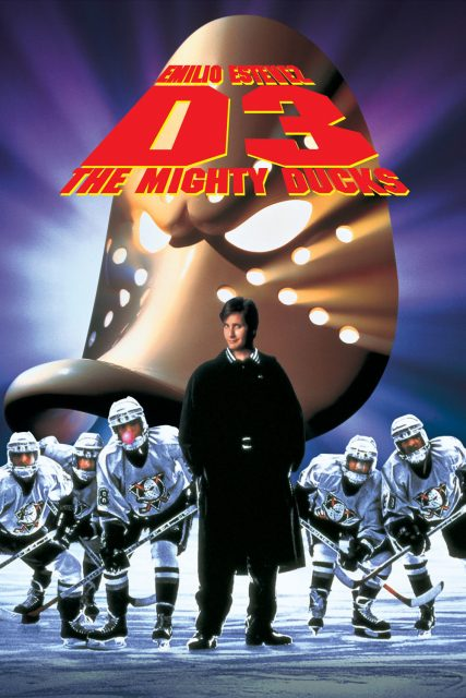 Affiche Poster petits champions 3 mighty ducks disney