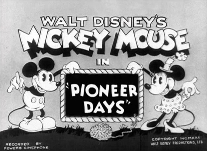 affiche pioneer days walt disney animation studios poster