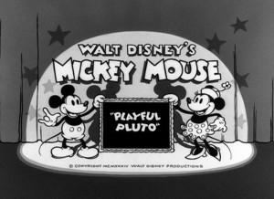 affiche pluto jongleur walt disney animation studios poster playful pluto