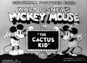 affiche qui frotte pique walt disney animation studios poster cactus kid