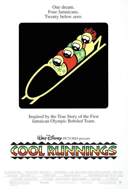 Affiche Poster rasta rockett cool runnings disney