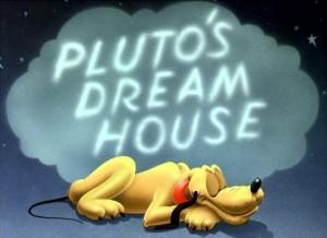 affiche reve pluto walt disney animation studios poster pluto dream house