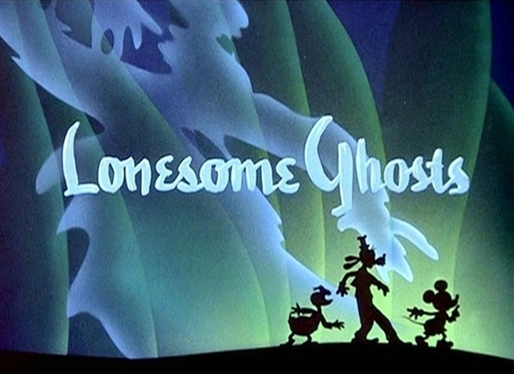affiche revenants solitaires walt disney animation studios poster lonesome ghosts