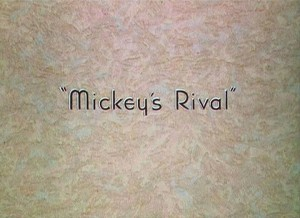 affiche rival mickey walt disney animation studios poster mickey rival