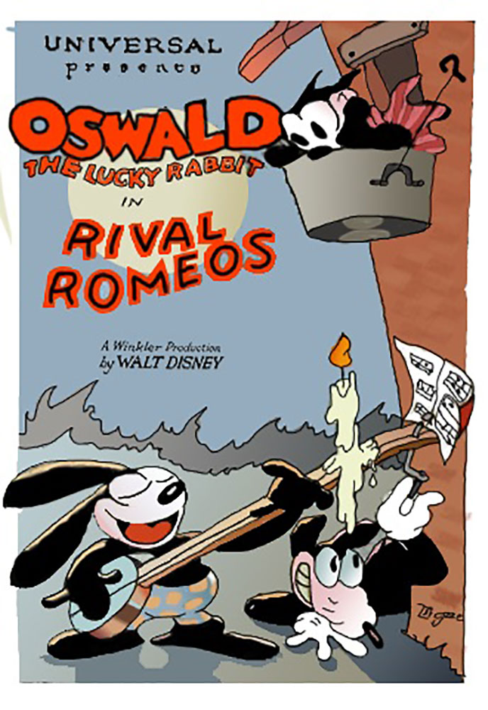 affiche poster rival romeos disney oswald