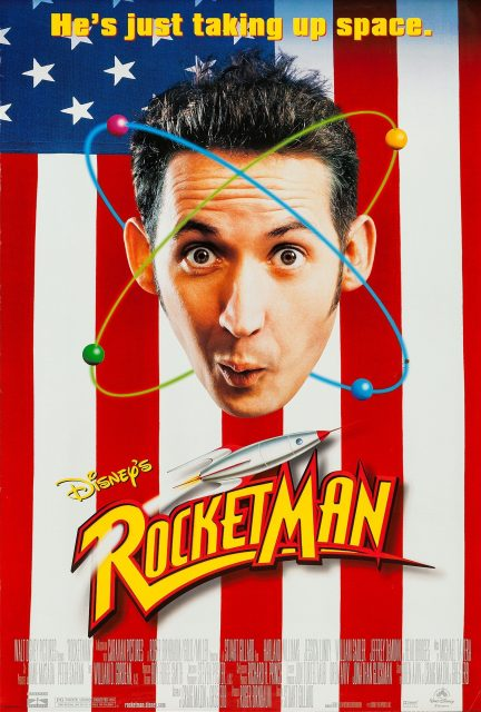 Affiche Poster rocketman disney