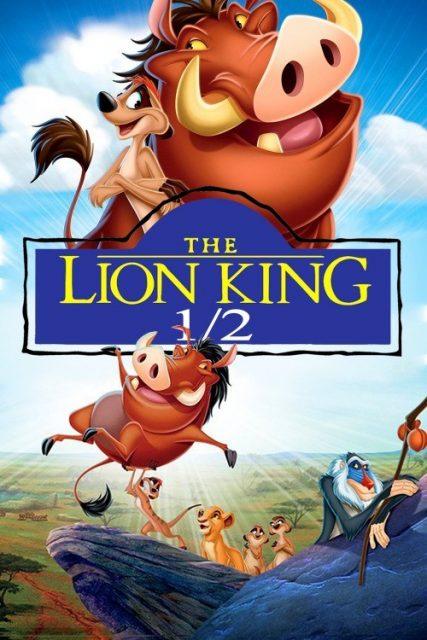Affiche Poster roi lion 3 king hakuna matata 1/2 disney disneytoon