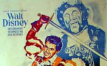 Affiche Poster rose épée sword disney