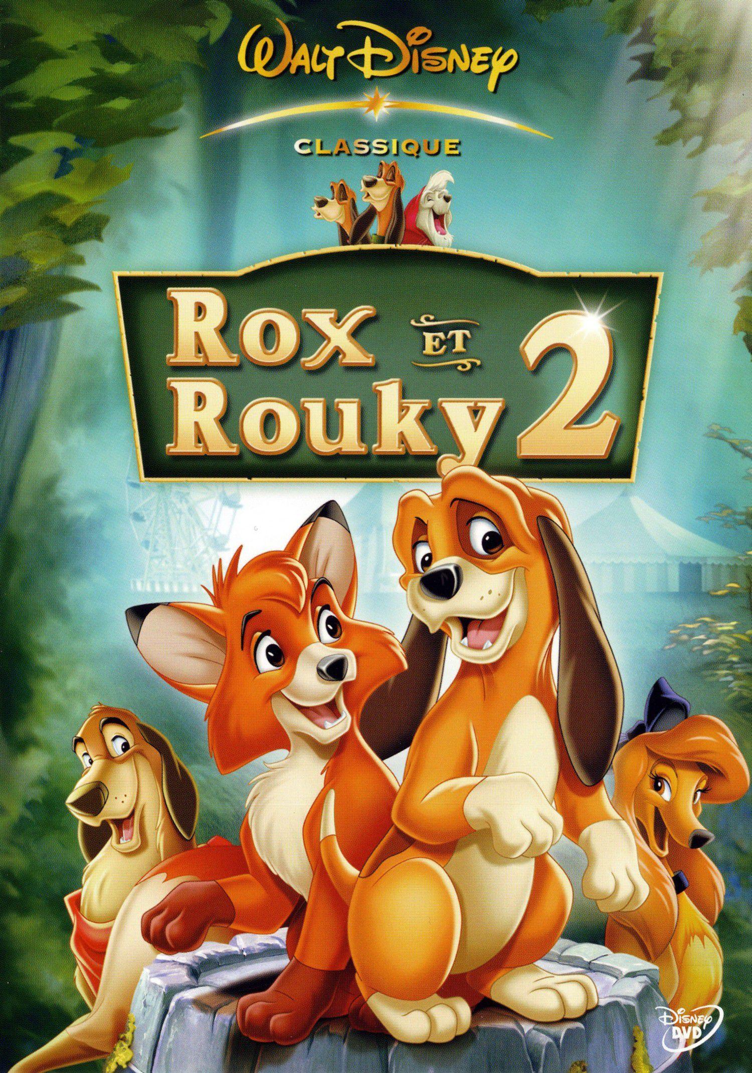 affiche poster rox rouky fox hound 2 disney