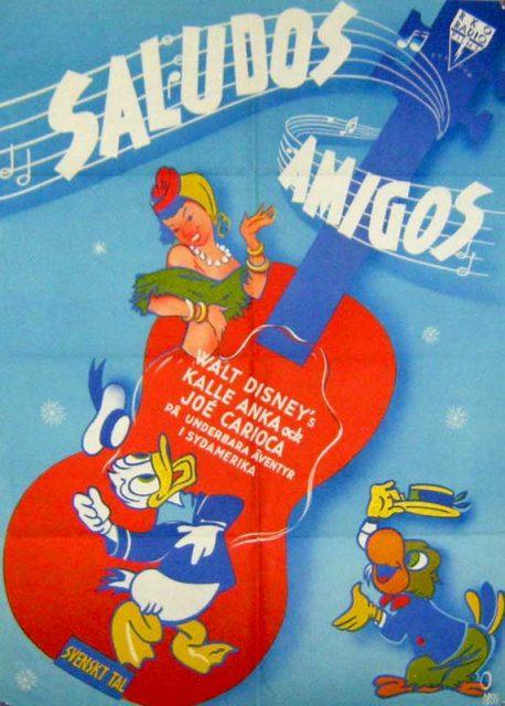 Affiche Saludos Amigos Disney Poster