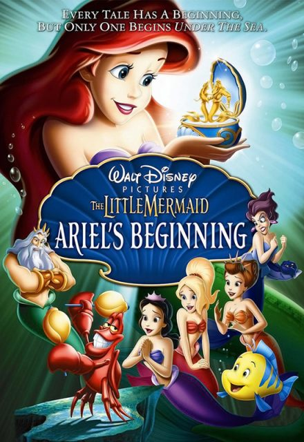 affiche poster secret petite sirène little mermaid ariel beginning disney