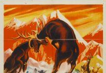 seigneur foret olympic elk true life adventures Walt Disney Pictures poster affiche