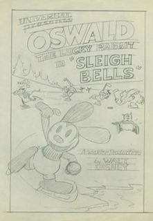 affiche poster sleigh bells disney oswald