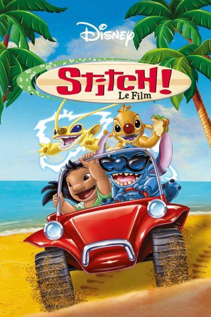 affiche poster stitch film movie disney