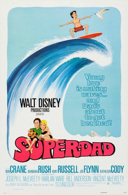 Affiche Poster Superdad disney