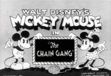 affiche symphonie enchainee walt disney animation studios poster chain gang