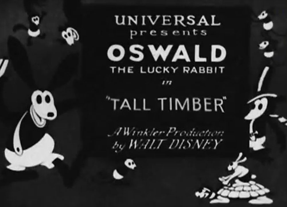 affiche poster tall timber oswald disney