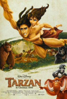 Affiche Tarzan Disney Poster