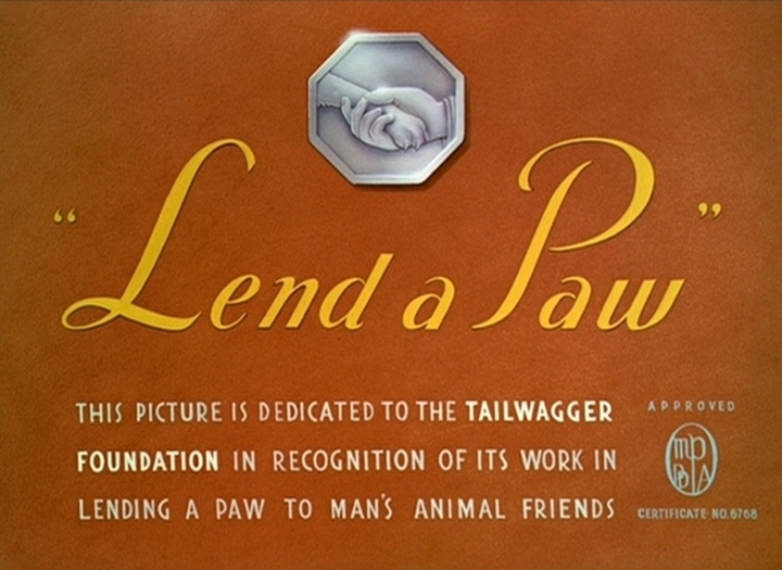 affiche tend patte walt disney animation studios poster lend paw
