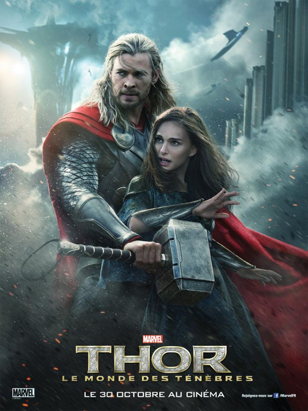 thor 2 monde tenebre dark world Marvel Disney poster affiche