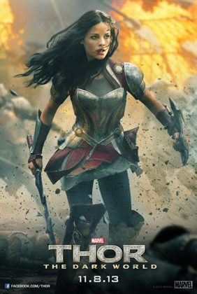 Affiche Poster Thor Monde Ténèbres Dark World DIsney marvel