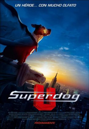 Affiche Poster underdog chien volant identifie disney