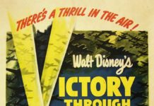 Affiche Victoire dans les airs Disney Poster Victory through air power