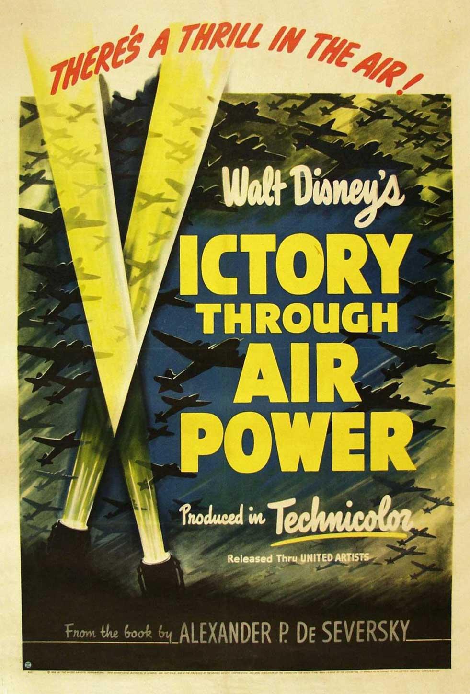 Affiche Victoire dans les airs Disney Poster Victory through air power