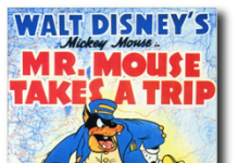affiche voyage mickey walt disney animation studios poster mr mouse takes trip
