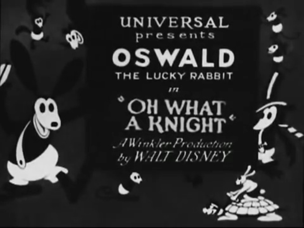affiche poster what knight oswald disney