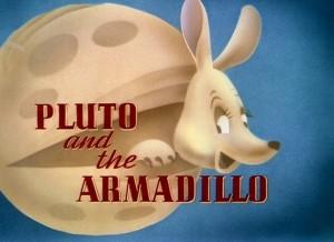 affuche pluto armadillo walt disney animation studios poster