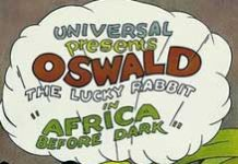 africa before dark Walt Disney Animation poster oswald