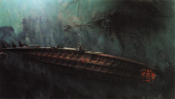 Artwork Concept art Atlantide l'empire perdu Disney Atlantis lost empire