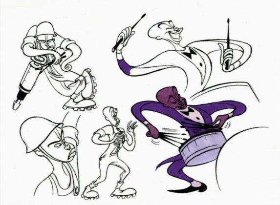 Artwork Concept art Fantasia 2000 Disney