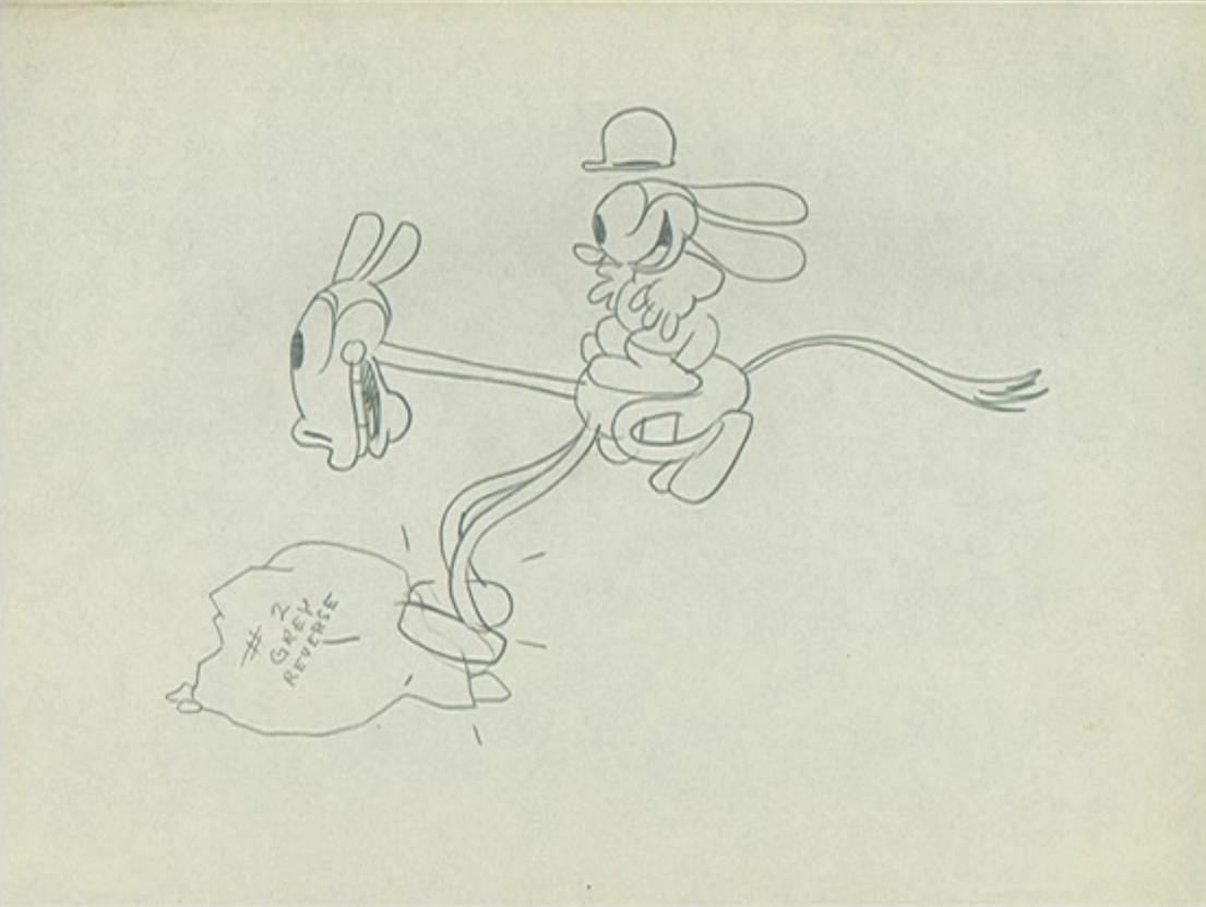 artwork fox chase oswald disney