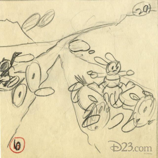 artwork sagebrush sadie disney oswald
