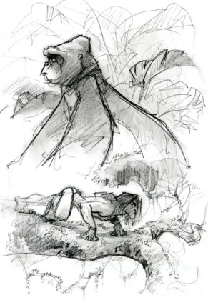 Artwork Concept art Tarzan Disney
