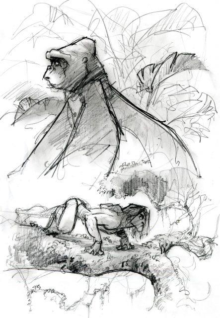Artwork Concept art Tarzan Disney